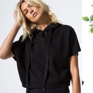 ALO Realm Short Sleeve Sweatshirt Top